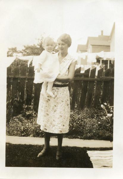 Agatha Urban Evaskitis and daughter Rita Evaskitis