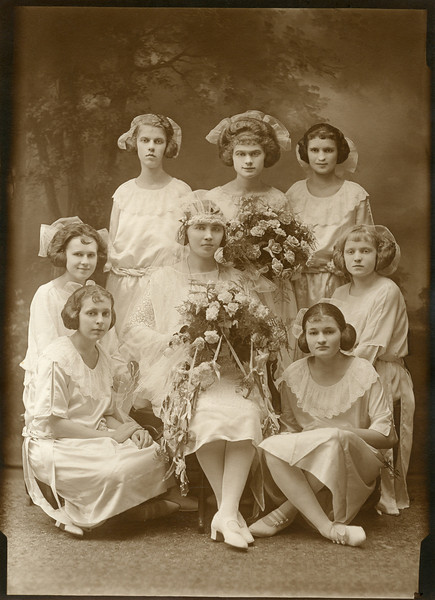 Magdalena Shupshinskas, center. From her first marriage to Stanley Puzauskas.