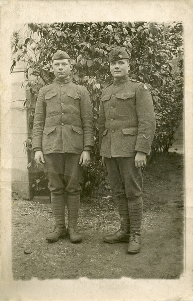 Stanley Puzauskas, on left.