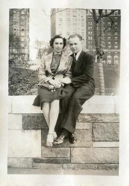 Aniele Evaskitis and husband Paul Shebby