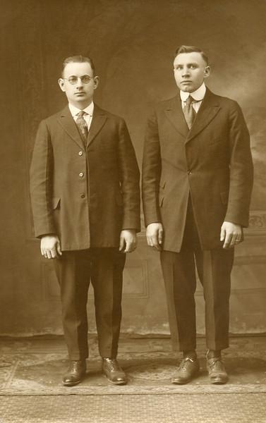 John Yusinskas on right