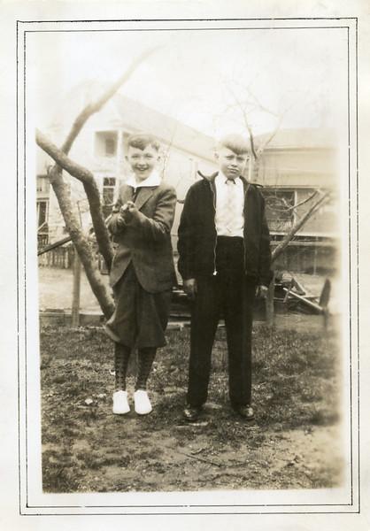 John Puzauskas, left, with Albert Laugauskas