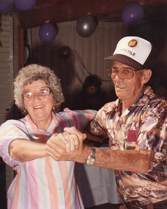 Clifton & Helen - ? Wedding/Anniversary at The Ranch, Summerland, CA - Date unknown