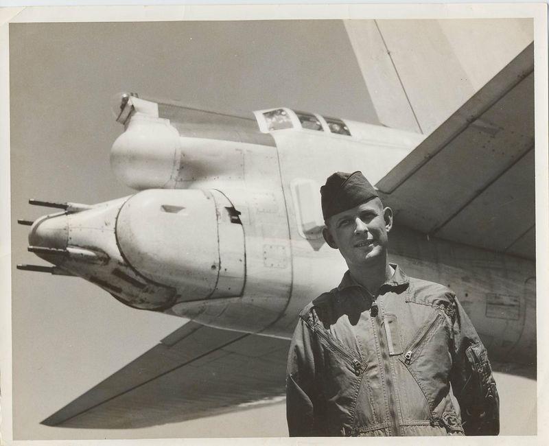 Bill McConnell. tail gunner B-52 aircraft
