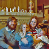 Me and my girls at aunt Sue's house.