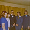 Wedding pic, Sherie, Roxanne's sister, Roxanne, the minister, Me and Alan Turnbough, my best man.