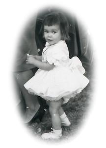 Kathy Kane. Gray Drive, Killeen, Texas. March 1964.