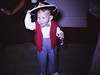 Dan at 2yrs in his cowboy outfit (wearing a bow-tie??)