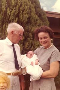 John and Mayme Galligan with John Kane