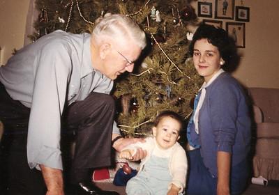 John Galligan with Mary Clare and John Kane