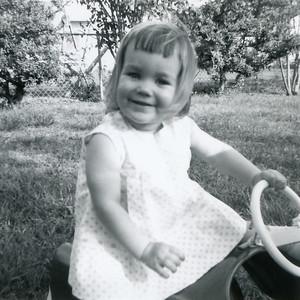 Kathy Kane, April 1964. Gray Drive, Killeen, Texas?