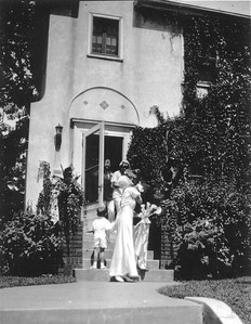 John and Mayme. The wedding of Mayme Clara Bender and John Sylvester Galligan was officiated by Fr. Raymond Galligan at St. Mark's, Saint Paul, Minnesota, August 8, 1934