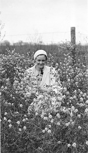 Mayme Clara Bender, May 1934 (location?)