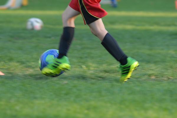 Soccer Practice Pics