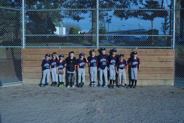 Rubber Duckies Baseball Team