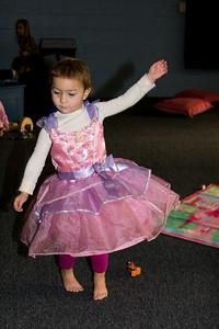 A twirling princess