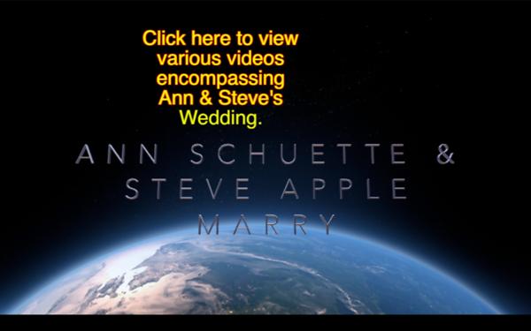 Ann Schuette & Steve Apple, Marry, Aug, 5, 1989