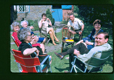 1970 ~~ Ray first visited relatives in England for a week and then flew to England to meet Penny's parents and family.