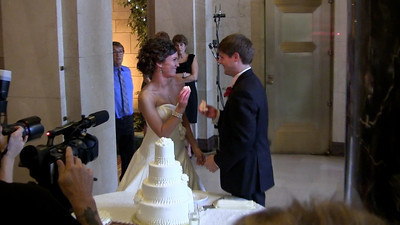 Video - Cutting of Wedding Cake