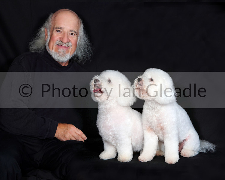 Paul With Dogs 1
