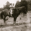 Gladys Day-Schwartz' dad was Harry Day - he lived a 'hermit-like' existence near Muskegon, MI. The great grand kids loved to ride his horse > Linda, Nola and Bill on the horse.