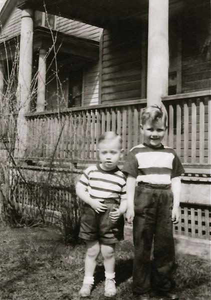 Cousins - Brad and Bill