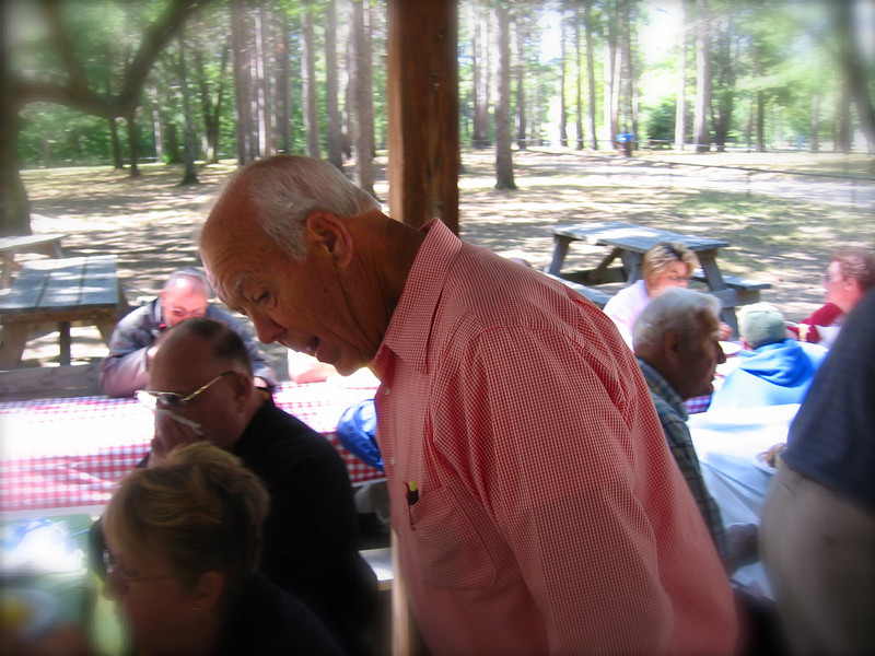 Uncle Dale at  family reunion in Harrison - about 2007 or 2008?