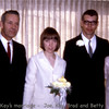 Brad and Kay's marriage with Joe and Betty Bay.