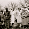 Mary, Dale, Uncle Paul (killed in war), Mary Gladys Schwartz, her sister Aunt Evelyn and their mom, Maggie Day