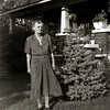 Inger Osman - Eldie's mom from Norway at the Blanchard farm.