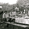 Camping and picnic at Budd Lake State Park - Connie, Betty, Joe, Ardel, Cecil and Eldie (l to r)