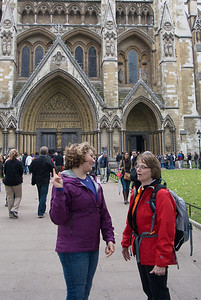 Westminster Abbey was too crowded so we didn't tour