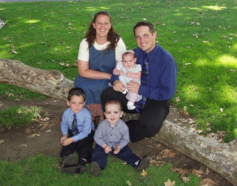 Michael & Natalie & Family, Summer 2002