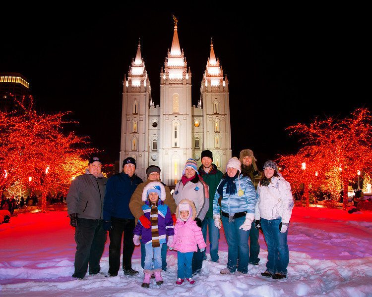 Familiy Temple Photo