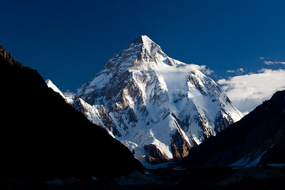 K2, in all its glory on our final morning.