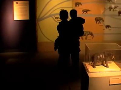 Sean & Evan at the Peabody Museum