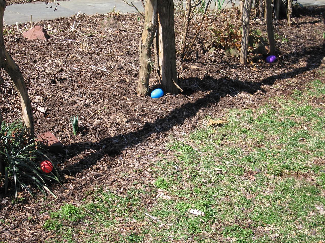 Hiding Easter Eggs