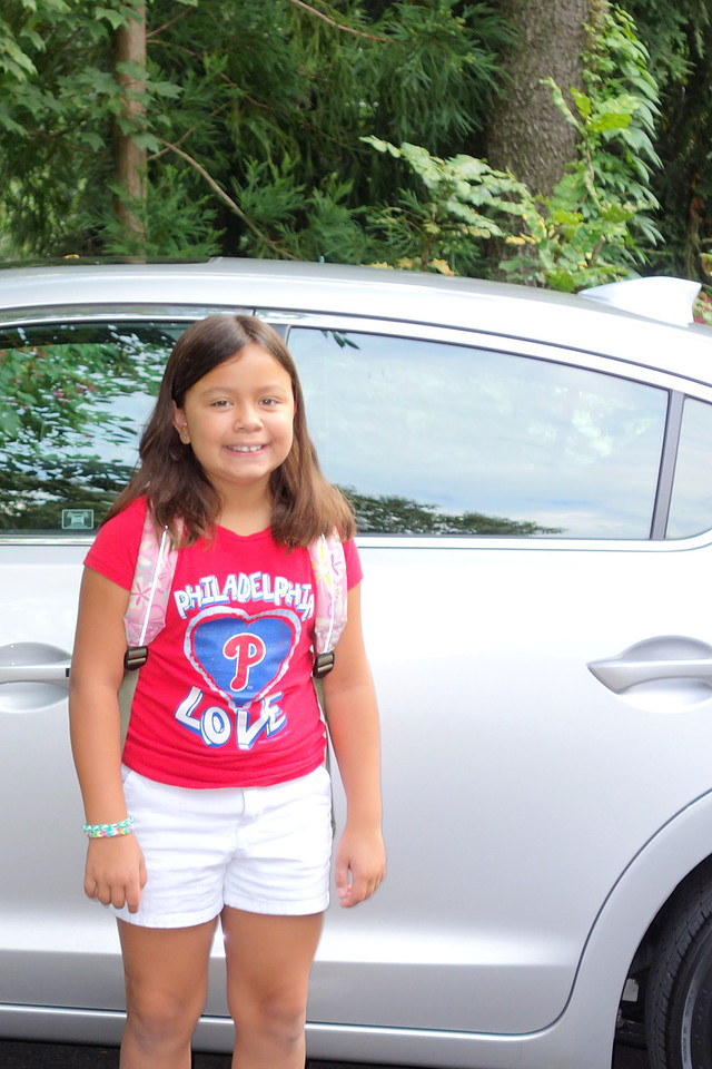 Kaidyn - 1st day of 3rd grade