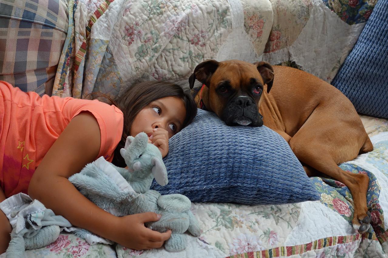 Kaidyn and Daisy