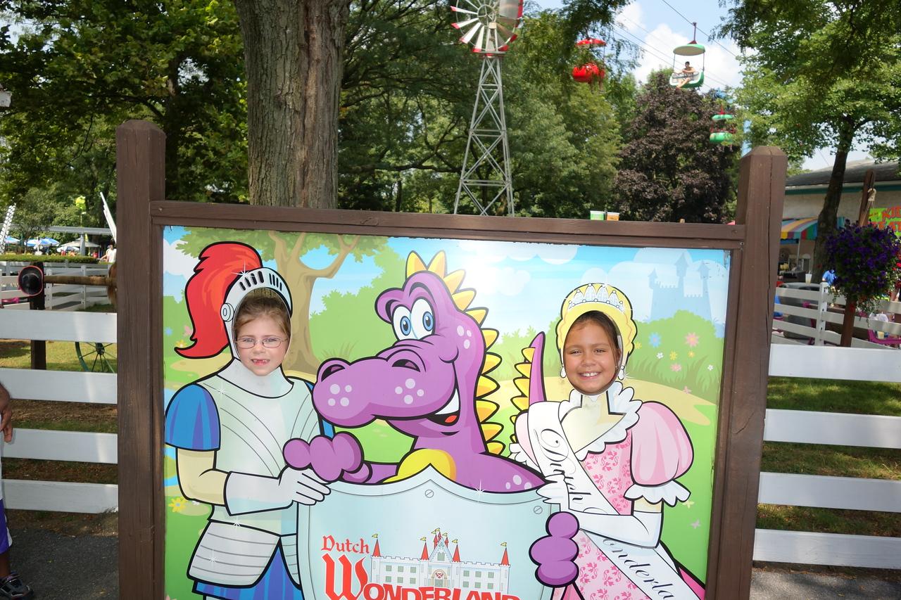 Knight Anna and Princess Kaidyn