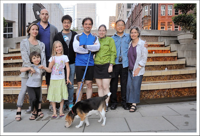 A family photo.