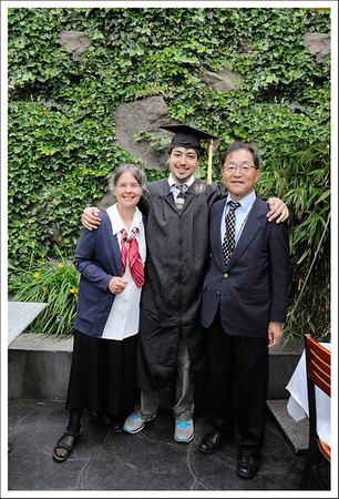 Raymen with his proud parents.