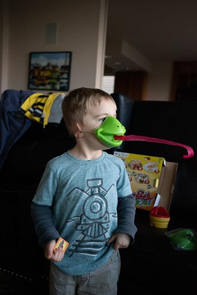 Wyatt (3 years old).