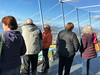 Wendy, Joe, Ronna, Donna and Colwyn admiring the view from the Space Needle.
