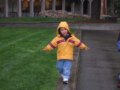 Walking around the University of Washington
