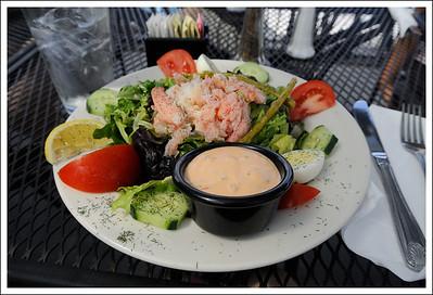 My lunch - crab salad