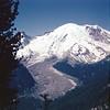 Emmons Glacier and Mount Rainier, July 4th trip, 1953.