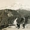 Howard and Virginia at Mount Rainier, early 1950s.