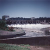 Bonneville Dam, July 4, 1953.
