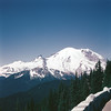 Mount Rainier from Sunrise Point, July 4, 1953.
